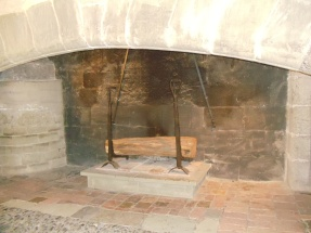 Fireplace in Guard Room