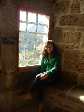 Window in Guard Room
