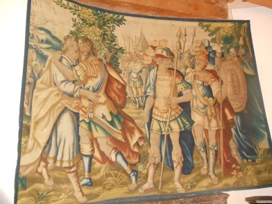 Tapestry in the Room of the Counts