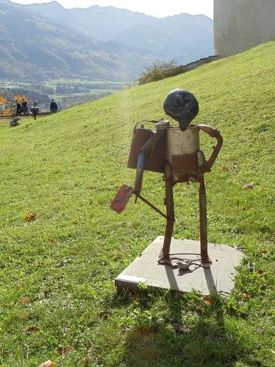 Tuckson's sculpture