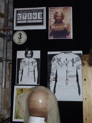Sirius Black's tattoos
