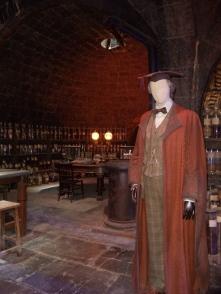Professor Lupin in the DADA classroom