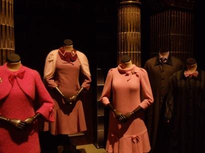 Rita Skeeter's costumes