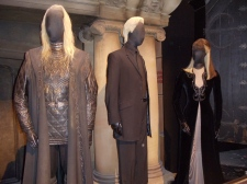 Lucius, Draco and Narcissa Malfoy