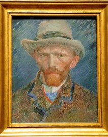 Self-Portrait, by Vincent Van Gogh (1887)