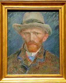 Self-Portrait, by Vincent Van Gogh (1887)