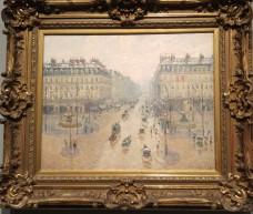 Avenue de l'Opéra, by Camille Pissarro