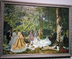 Luncheon on the Grass, by Claude Monet
