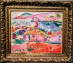 View of Collioure, by Henri Matisse