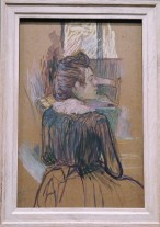 Woman at the Window, by Henri de Toulouse Lautrec