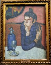 Absinthe Drinker, by Pablo Picasso