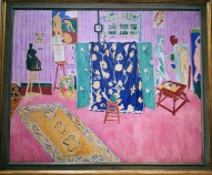 The Studio (The Pink Studio), by Henri Matisse